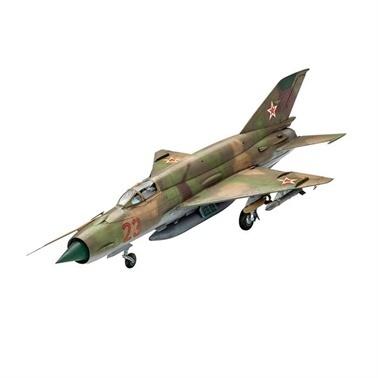 Revell Revell Maket MiG-21 SMT Renkli